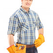 Manual worker with helmet — Stock Photo #45871785