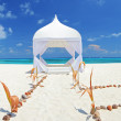 Wedding tent on beach — Stock Photo #45872431