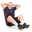 Middle age senior man exercising — Stock Photo #45873561