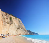 Porto Katsiki beach on daytime — Stock Photo