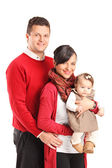 Family with kid — Stock Photo