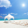 Wedding tent on beach — Stock Photo #45884465