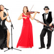 Band of young musicians — Stock Photo #45891733