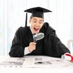 Graduate student seeking job — Stock Photo #50115231