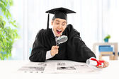 Graduate student seeking job — Stock Photo