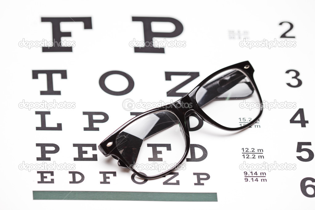 buy eyeglasses online  glasses on eye chart