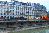 巴黎的房子 — 图库照片