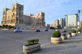 Freedom square in Baku — Stock Photo