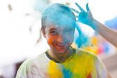Holi festival of colors — Stock Photo