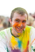 Holi festival — Stock Photo