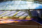 3d basketball arena — Stock Photo