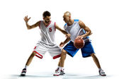 Basketball players — Stock Photo