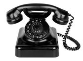 Alte vintage telefon — Stockfoto