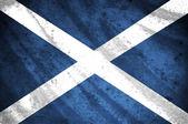 Flag of scotland, — Stock Photo
