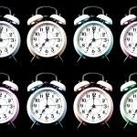 Old style alarm clocks — Stock Photo #45994505