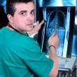 Doctor check x-ray — Stock Photo #46108255