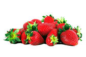 Strawberry fruits heap. — Stock Photo