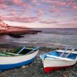 Sunset in La Caleta on the coast of Tenerife — Stock Photo #46288205