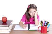 Bored child at school  — Stock Photo