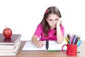Bored child at school  — Stockfoto
