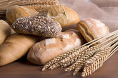 Different breads — Stock Photo