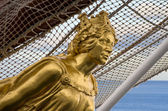 Figurehead of Juan Sebastian Elcano — Stock Photo