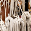 Ropes on a sailboat 2 — Stock Photo #46461761