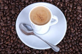 Creamy espresso  — Stock Photo