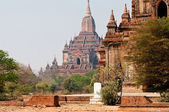Bagan temples — Stock Photo