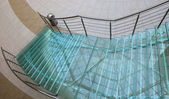 Staircase made by glass — Foto de Stock