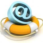 Lifebuoy Email — Stock Photo #46326623