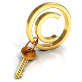 Copyright protect concept — Stock Photo