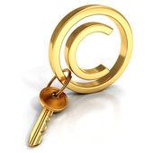 Copyright protect concept — Stock Photo
