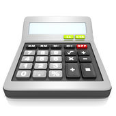 Classic electronic calculator — Stock Photo