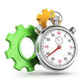 Time works concept — Stok fotoğraf