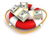 Koncepcja oszczędzania pieniędzy — Zdjęcie stockowe