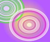 Circle Light purple background — ストックベクタ