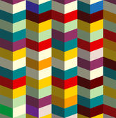Zig zag 3d vector colorful — Wektor stockowy