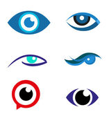 Eye logo vector icon download — Stockvector