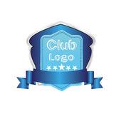 Football golf baseball Club logo vector symbol icon — Stock Vector