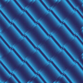 Blue Metallic Grid Dot Background Vector Illustration — Wektor stockowy