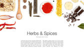 Spices on white background — Stock Photo