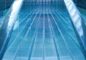 Escalator Reflections — Stock Photo
