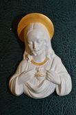 The figure of Jesus  gypsum — Photo
