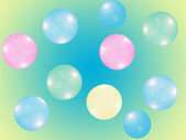Colorful round shiny balls. — Stock Photo