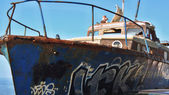 Stará loď. — Stock fotografie