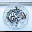Dirty ashtray — Stock Photo #51475751