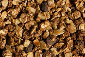 Dry muesli from above texture — Stock Photo