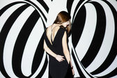 Fashion girl — Stock Photo