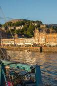 Oban, the ancient port of Scottish land — Stock Photo